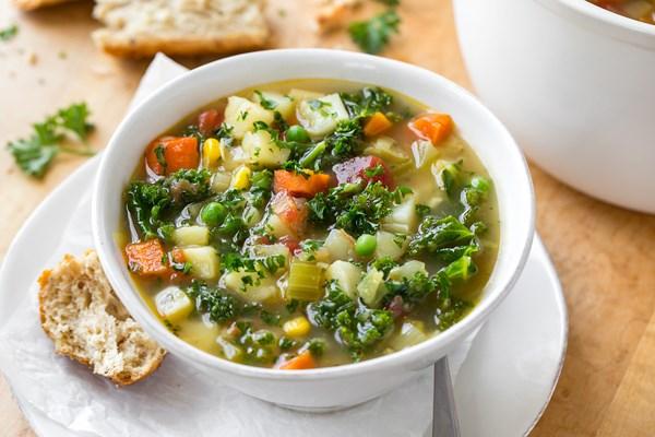 Χορτόσουπα για τις κρύες ημέρες!
