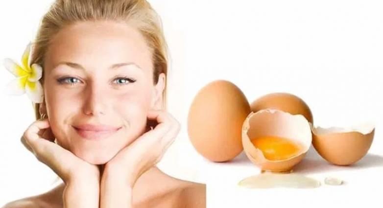 Μάσκα με ασπράδι αυγού για λαμπερή επιδερμίδα μέχρι τα Χριστούγεννα