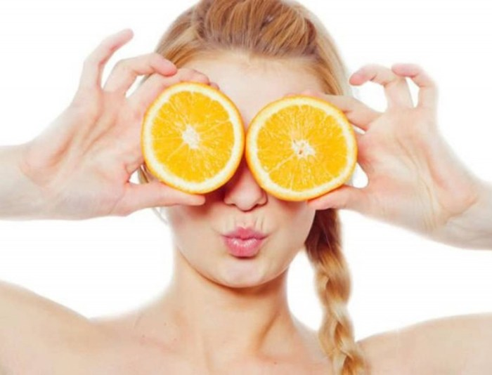 Σπιτική μάσκα πορτοκαλιού για απολέπιση και αποτοξίνωση.fiftififti.eu