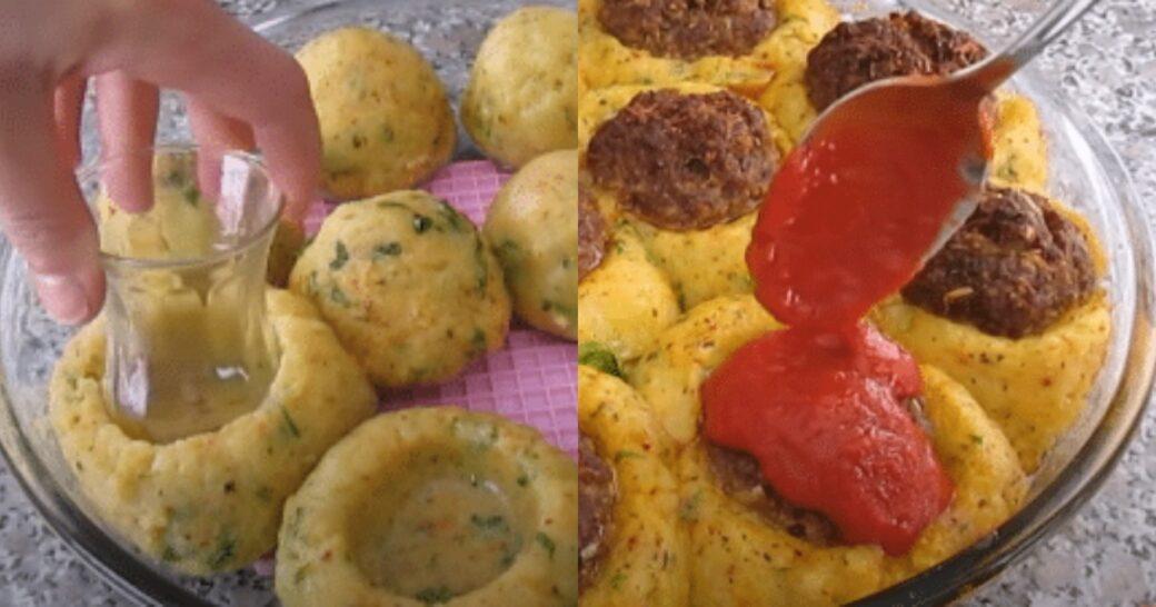 Μπάλες πατάτας με κιμά και μυρωδικά: Λαχταριστό και πολύ χορταστικό φαγητό για όλη την οικογένεια