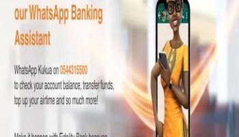 Fidelity Bank WhatsApp Banking Assistant kukua
