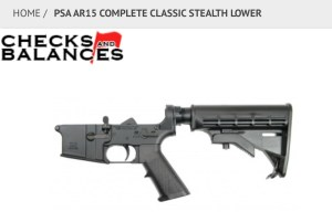 AR15 lower