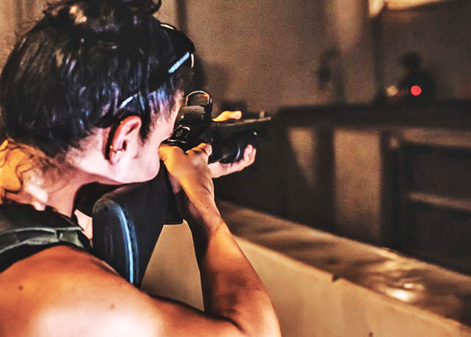 Crimson Trace shotgun laser and optics mount