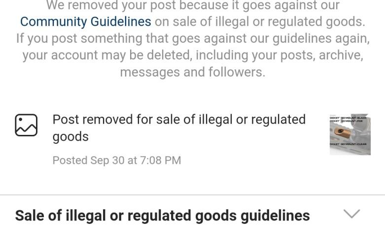Censoring on Instagram