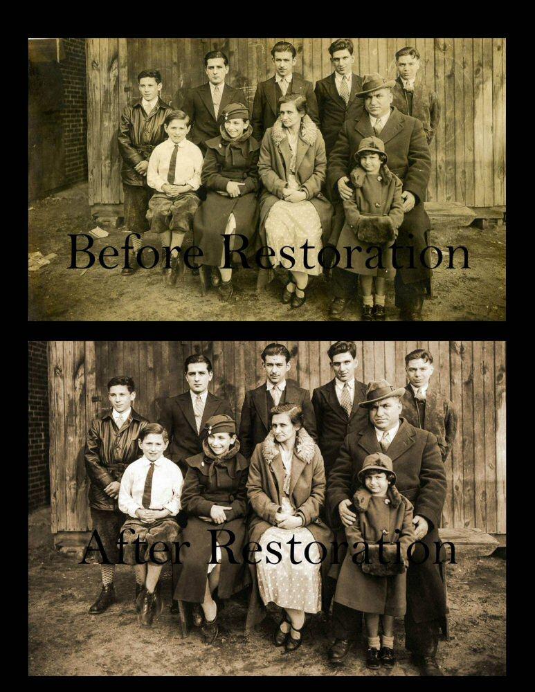 Photo Restoration in Newark Delaware