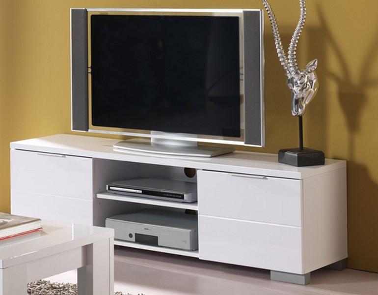 meuble tv 2 niches 2 tiroirs elios