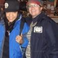 """Karen Sullivan"" (right) with her associate ""Daniela Cardenas"""