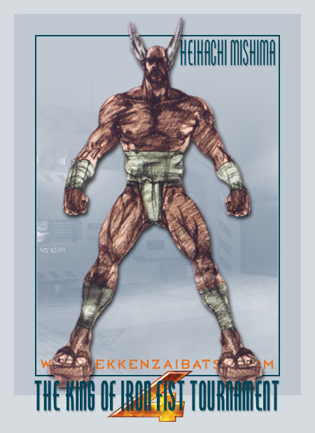 Tekken 4 Character Artwork