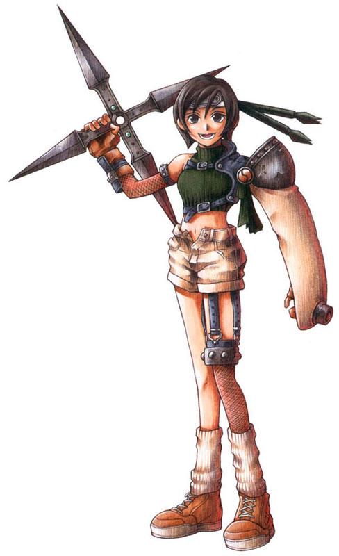Yuffie Kisaragi Final Fantasy Ehrgeiz