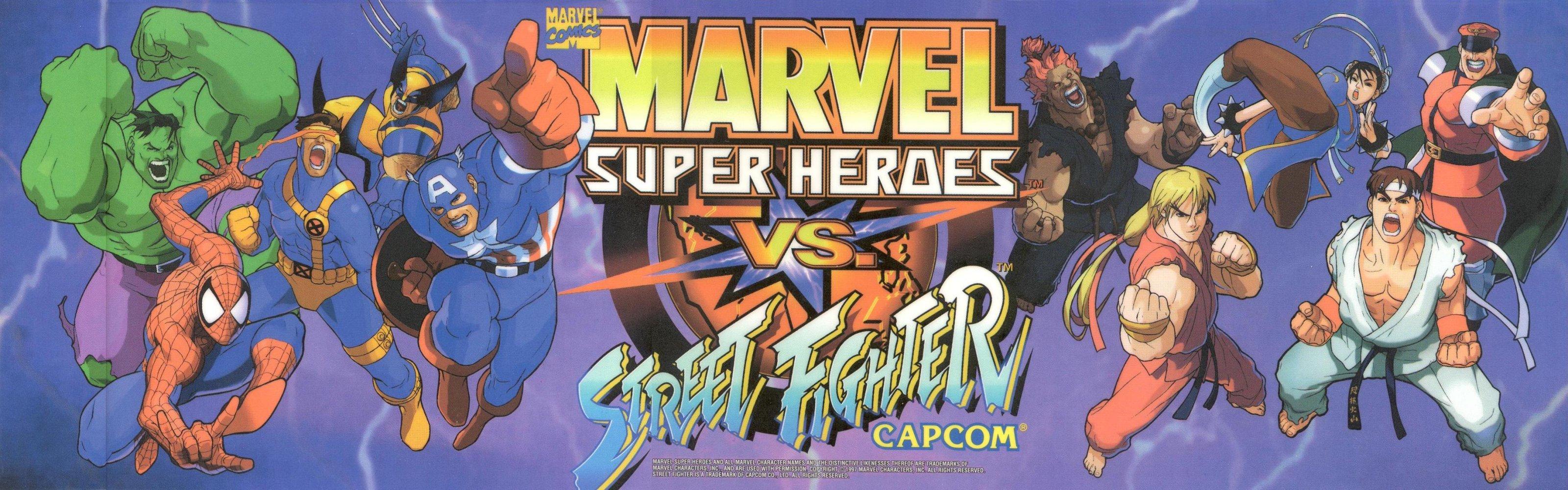 Marvel Super Heroes VS Street Fighter TFG Review