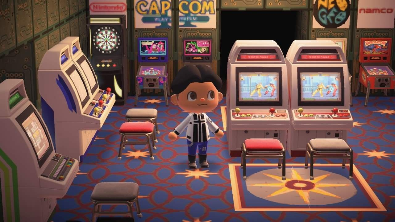The Best Fighting Game Themed Creations for Animal ... on Animal Crossing Room Ideas New Horizons  id=69076