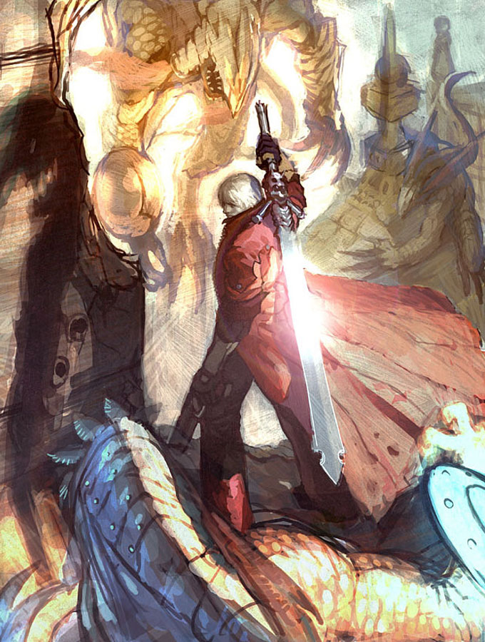 4 Form Nero Devil Cry May Demon