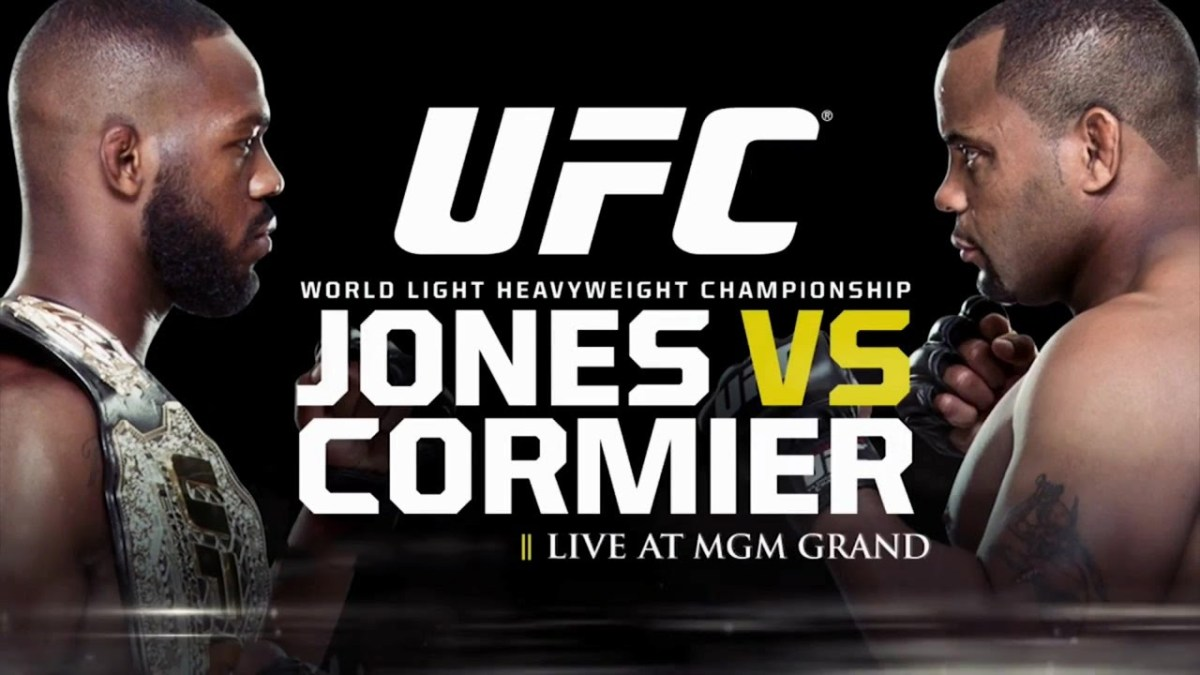 UFC 182: Jon Jones and Daniel Cormier's heated staredown at media day