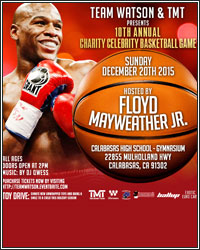 TEAM WATSON AND TMT PRESENT THE 10TH ANNUAL CELEBRITY BASKETBALL AND TOY DRIVE THIS SUNDAY