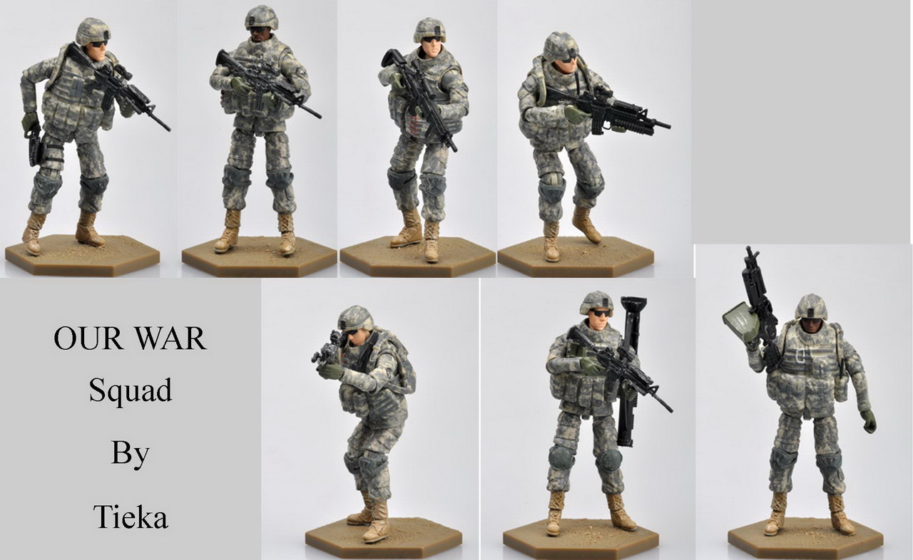 Acu Army Action Figures