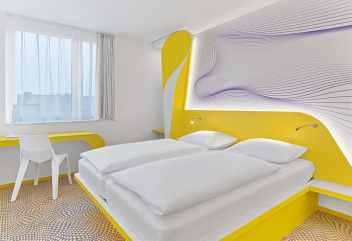 Impression of room in Designhotel Eilandje