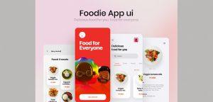 Figma food delivery app UI kit
