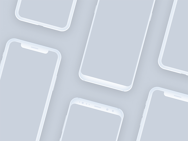 Download Free Iphone X Mockup Figma PSD Graphic Files