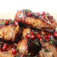 Sticky Pomegranate Chicken