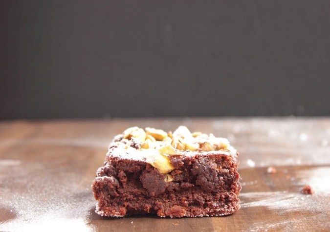 chestnut chocolate brownies