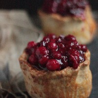 Game and Cranberry hand raised pies