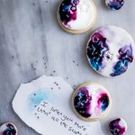 watercolour cookies