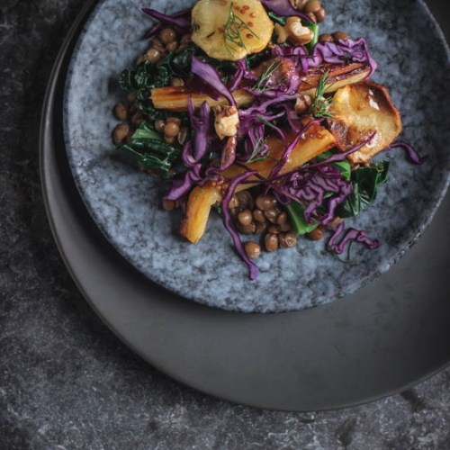 Parsnip salad