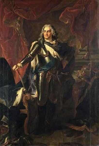 Louis de Silvestre | August der Starke im Portrait