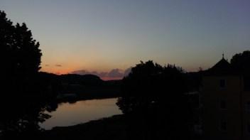 Sonnenuntergang mit Wolken | 03.08.2017