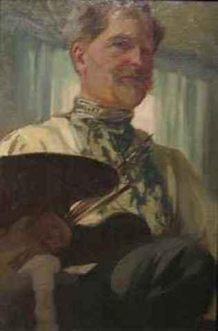 Alfons Mucha - Selbstporträt (1907)