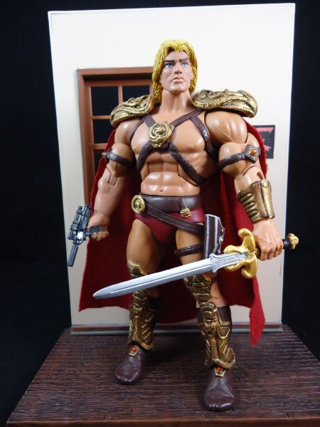 Hunter Knight Custom He-Man