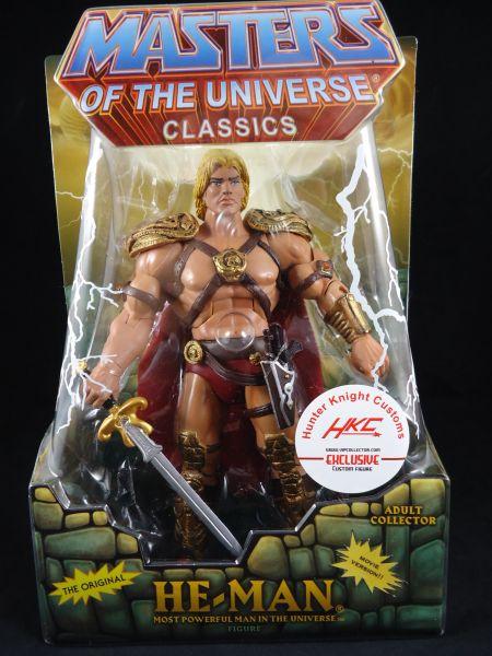 Hunter Knight Customs He-Man verpackt