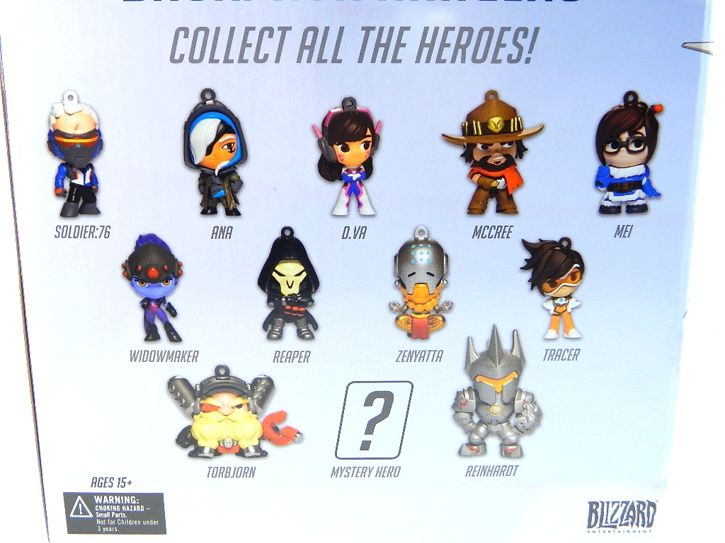 REVIEW Overwatch Blind Bagged Backpack Hangers