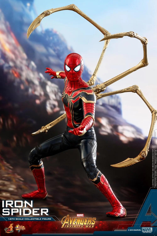 Hot Toys Marvel Avengers Infinity War 16 Iron Spider