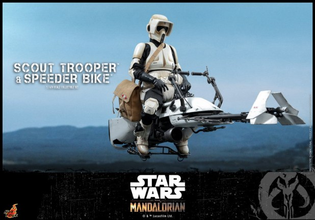 Hot Toys - SWM - Scout Trooper and Speeder Bike Collectible Set_PR7