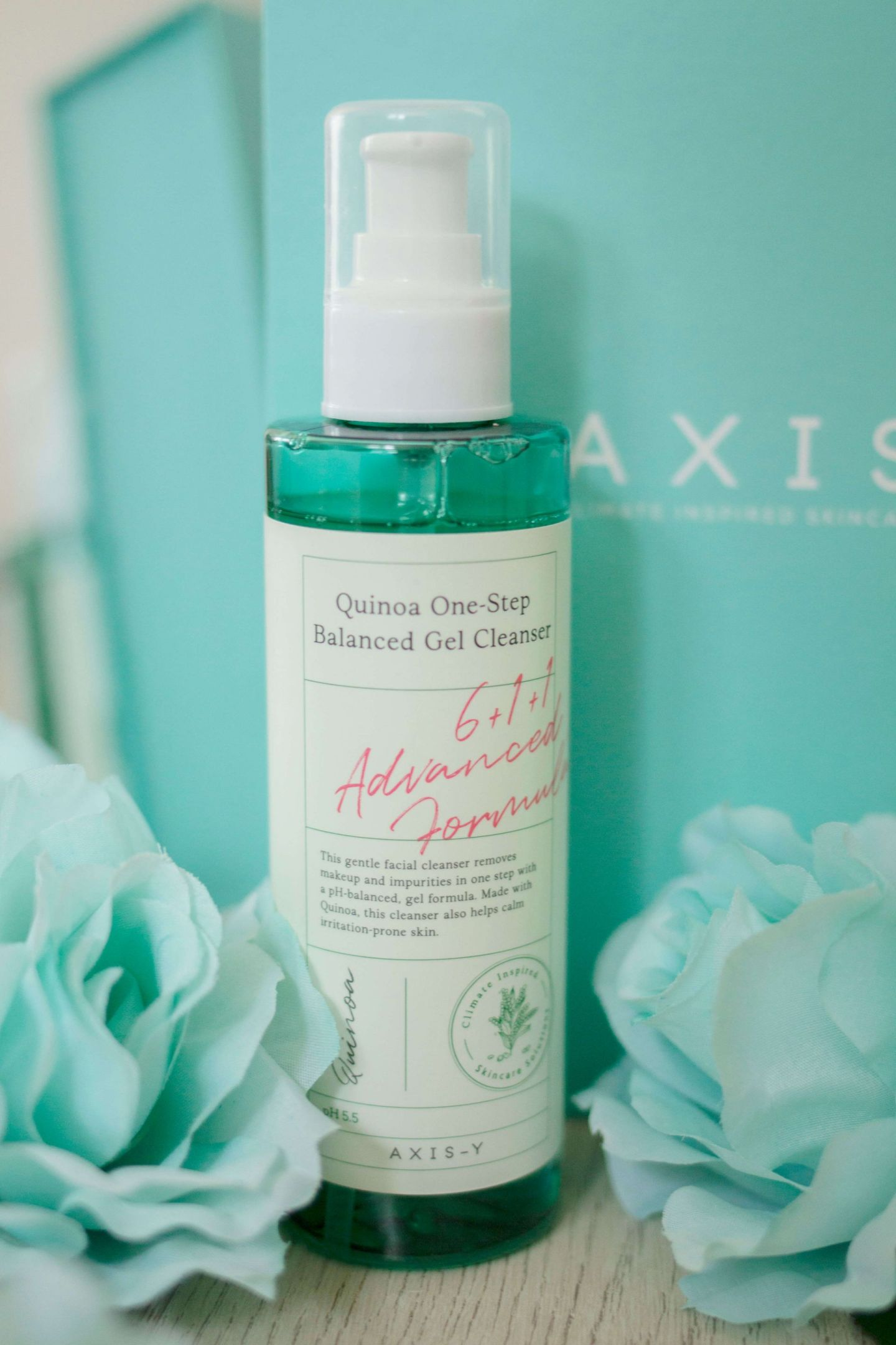 axis-y quinoa one-step balanced gel cleanser review