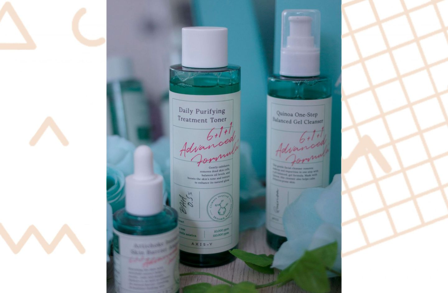 Axis-y climate inspired skincare solutions 611 formula