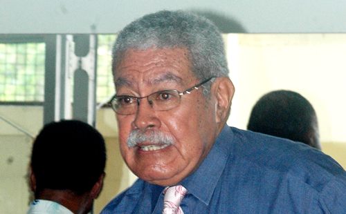 Fiji's ousted Prime Minister and SDL party leader Laisenia Qarase. (File Photo)