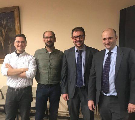 Arnau Bonada, Maties Serracant i Blai Costa als 40 anys del CIESC