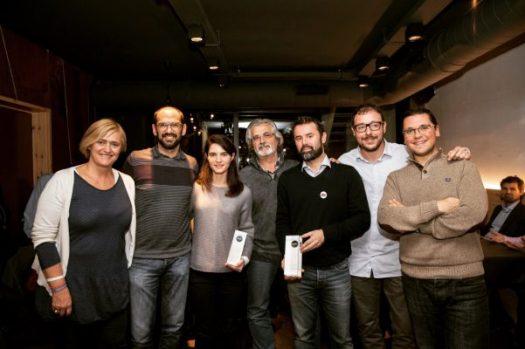Premi Xarxa Onion del 2017 lliurat al Jordi Cuixart.