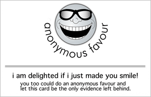 anonymous favour