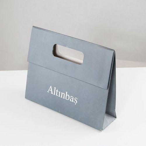 Altınbaş Kuyumculuk Karton Çanta tasarımı