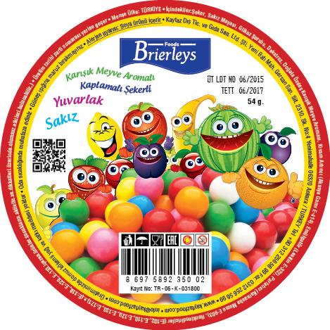 Brierleys Etiket Tasarımı