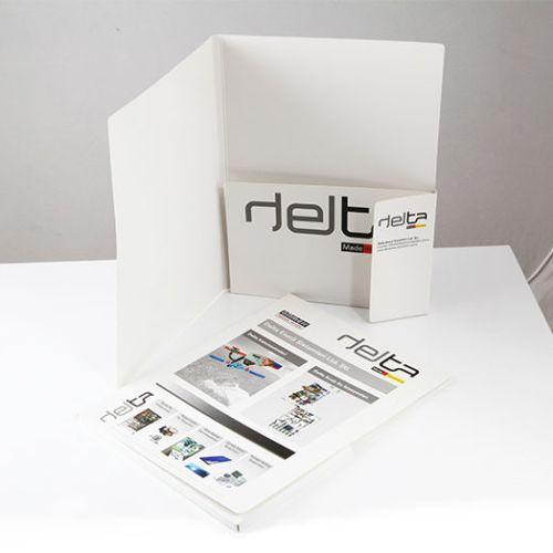 Delta Mühendislik Cepli Dosya tasarımı