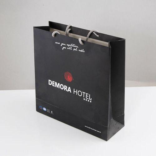 Demora Hotel Karton Çanta tasarımı