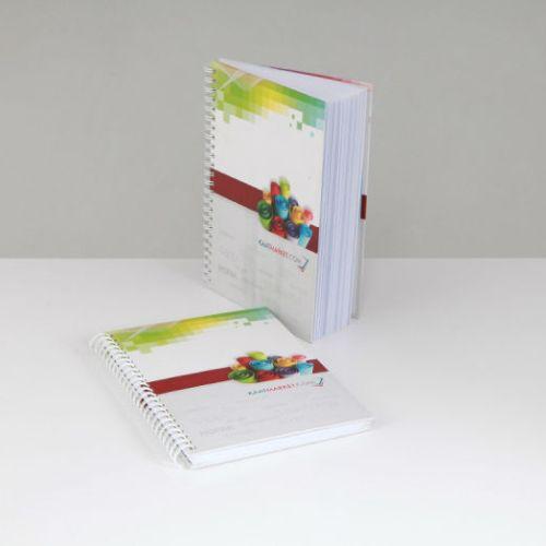 Kağıt Market Spiralli Defter tasarımı