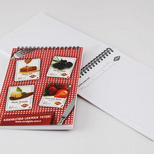 Lokman Gıda Bloknot tasarımı