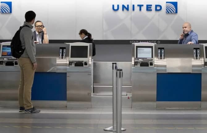 36,000 employees of United Airlines are at risk
