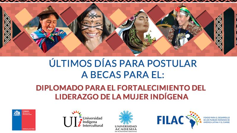 Convocatoria a becas para mujeres de Sudamérica: Diplomado para el Fortalecimiento del Liderazgo de la Mujer Indígena