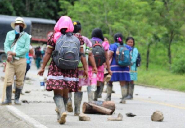 Colombia: La ONU pide al Gobierno que no trate a los indígenas como a un grupo armado